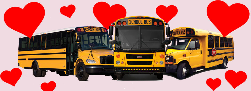 February is Love the Bus Month, Top 10 Reasons We Love the Bus