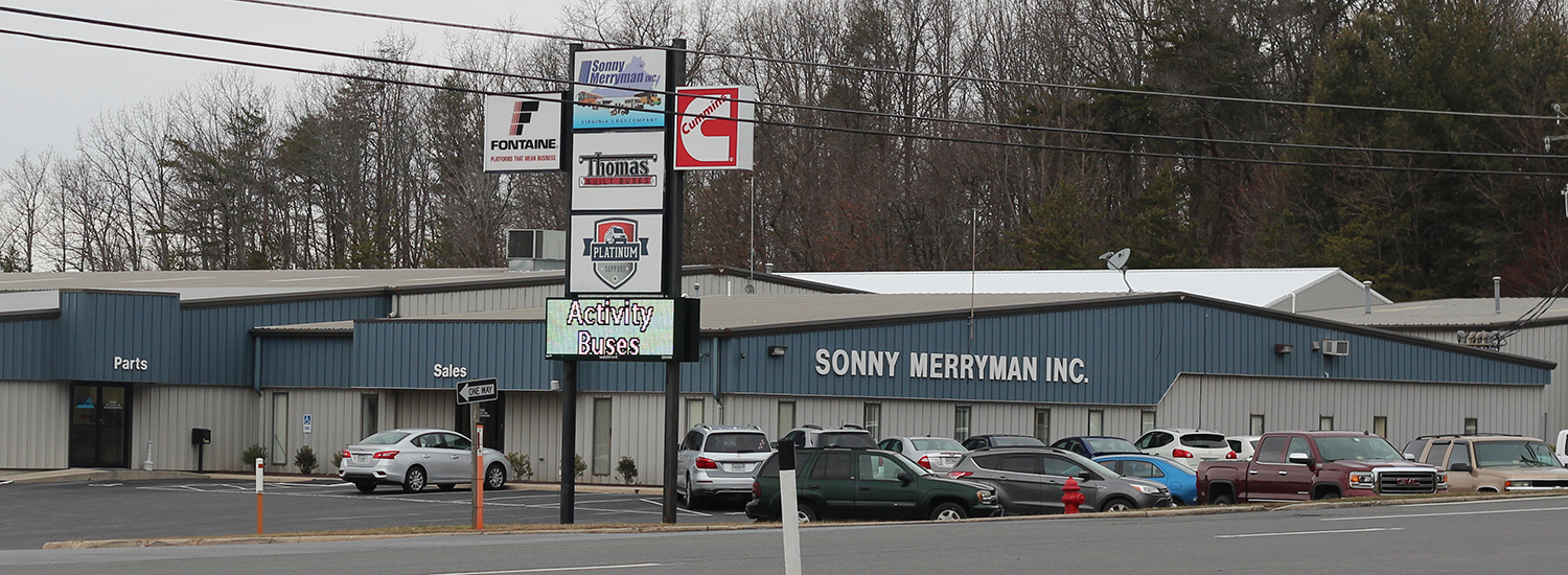 Sonny Merryman Inc. Central Virginia Location in Evington, Virginia