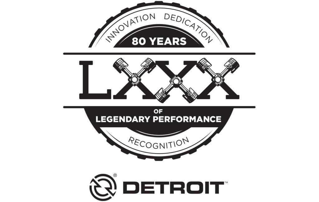 Detroit 80 Years Logo