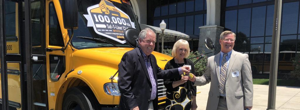 Montgomery County Public Schools Thomas Built Buses C2 school bus delivery